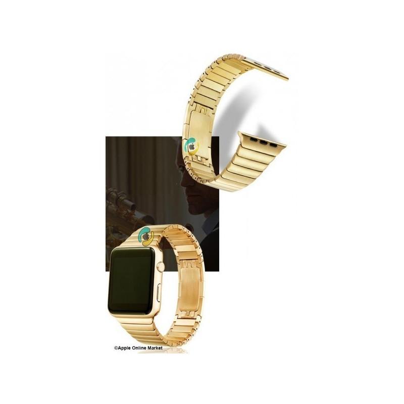 بند فلری طرح link bracelet اپل واچ 42 میلیمتر
