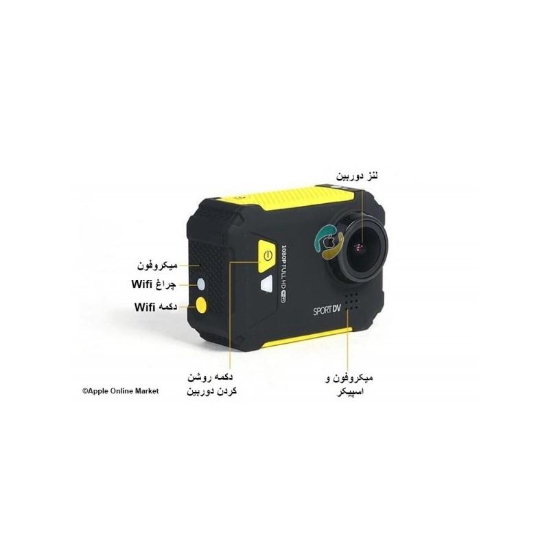 دوربین فیلم برداری اسپورت مدل SD-01 برند ریمکس