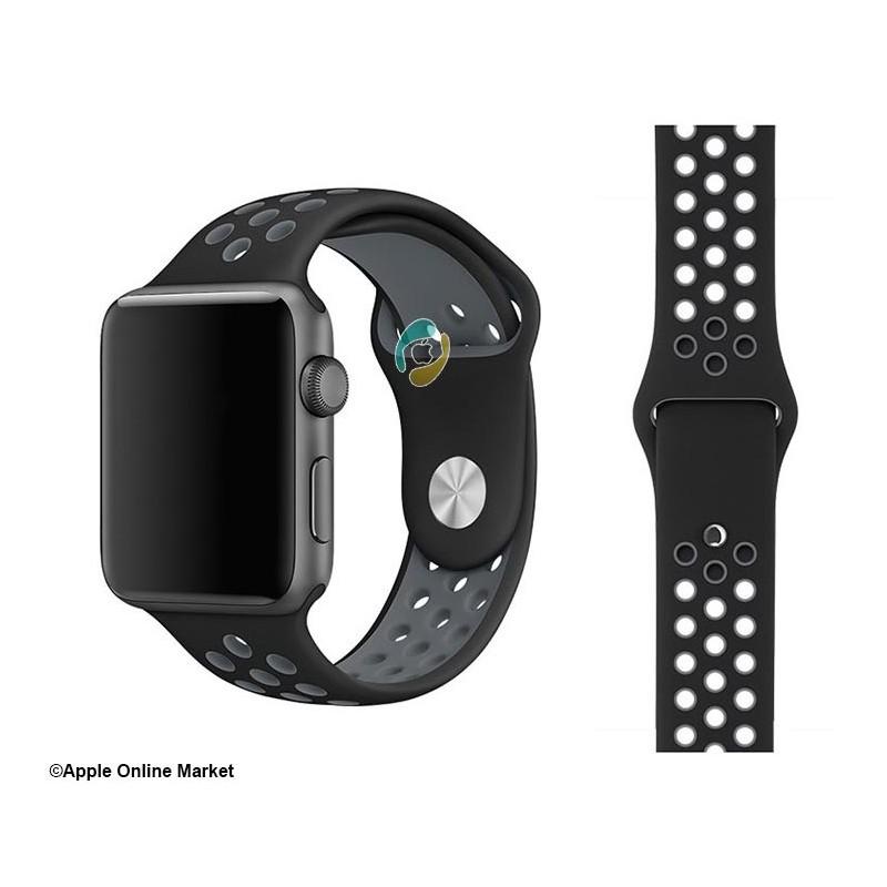 بند سیلیکونی طرح نایک اپل واچ 42 و 44 میلیمتر