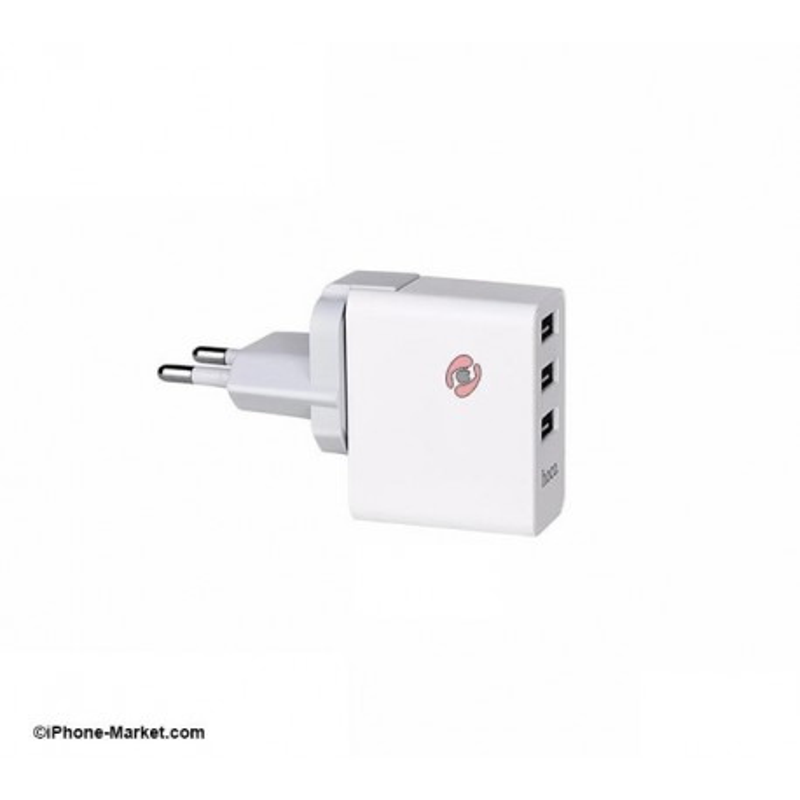 شارژر برق 3 پورت مدل C20 برند Hoco