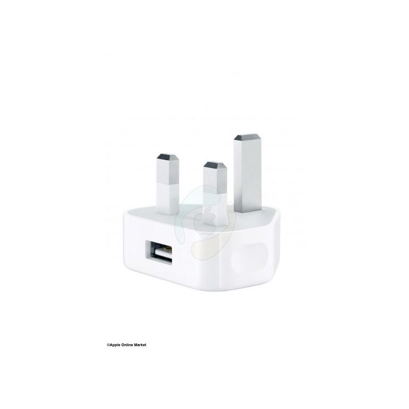 شارژر برق کپی برابر اصل Apple 5W USB Power Adapter UK