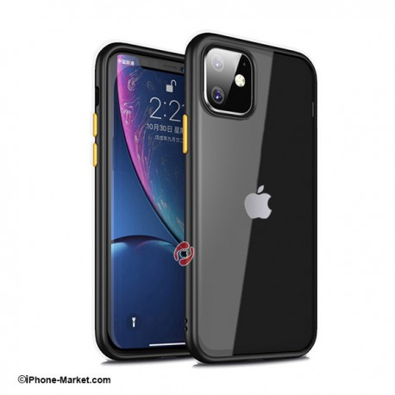 قاب شیشه ای آیفون 11 مدل Bright برند iPaky