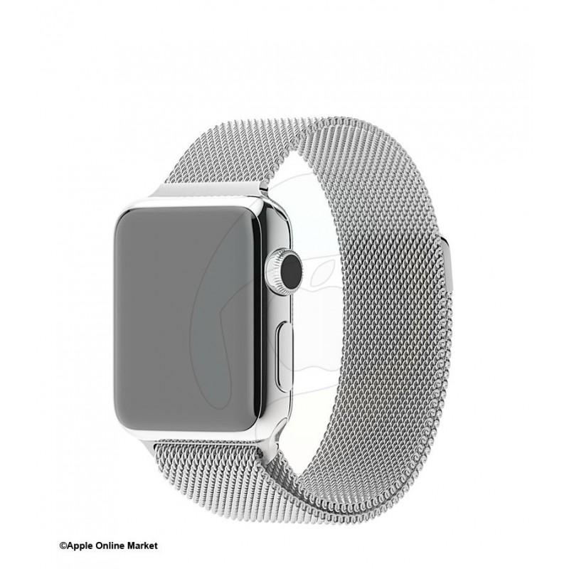 بند فلزی اپل واچ 38 میلیمتر طرح میلانس برند ریمکس