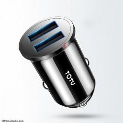 شارژر فندکی 2 پورت 3.4 آمپر TOTU DCCD-014