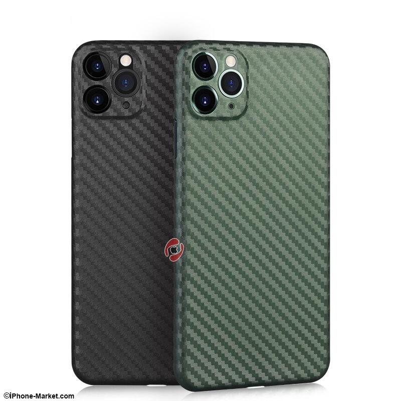 MEMUMI Slim PP Carbon Fiber iPhone 11 Pro Max