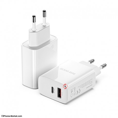 Dux Ducis C70 PD 20W QC 18W Fast Charger